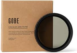 Gobe 37mm ND2-32 (1-5 Stop) Variable ND Lens ... - Amazon.com