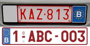Vehicle registration plates of Belgium - Wikipedia