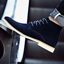 Flangesio EUR 39-46 Men Chelsea <b>Boots Fashion Men's</b> Suede ...