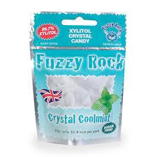 <b>Кристаллы ксилитола</b> с мятой, <b>Fuzzy</b> Rock, 22 г, Южная Корея ...