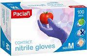 <b>Перчатки латексные</b> Paclan <b>Contact</b>, размер М, <b>100 шт</b>. — купить ...