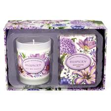 <b>Michel Design Works</b> Spruce Room Spray and Candle Travel Gift Set