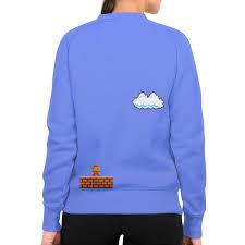 Заказать свитшот женский с полной запечаткой Mario #2596581 ...