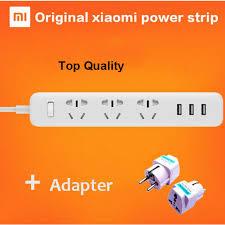 100% Original xiaomi <b>mi power strip</b> 250V charging <b>3</b> USB ...