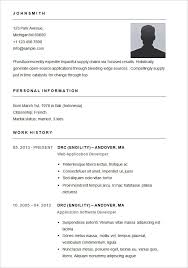 basic resume template –    free samples  examples  format    basic resume template for app developer  free download