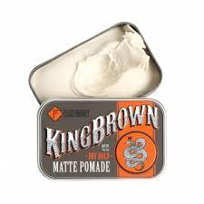 Матовая <b>помада для укладки волос</b> King Brown Pomade 75 г ...