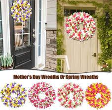 Spring Uropean-<b>style</b> Simulation Garland <b>Rattan Flower</b> Ornament ...