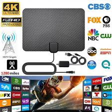 TY45 <b>HD TV</b> Antenna Satellite Receiver Indoor <b>2000 Miles</b> Antenna ...