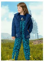 Комплект куртка+<b>полукомбинезон</b> синий <b>Pelican</b> - купить по цене ...