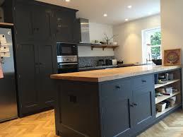 shaker style solid oak kitchen