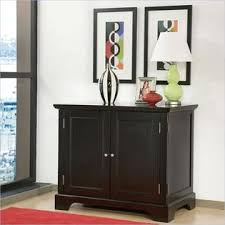Home Styles Bedford Compact Office Cabinet In Ebony  Supplies Furniture U0026amp Decor Lockers Storage Cabinets  S