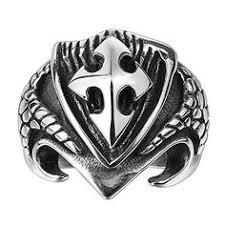 <b>Gomaya</b> Jewelry fleur-de-lis ring. | Apocalypse Fashion | Jewelry ...