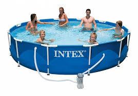 28212 Каркасный бассейн <b>Intex METAL FRAME 366х76</b> см Intex + ...