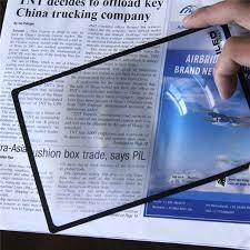 <b>Xinxiang</b> Ultra thin <b>Magnifying Glass 3X</b> Glasses Magnifier Loupe ...