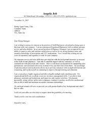 pharmacist cover letter example   coverletters and resume templatespharmacist resume and letter cover