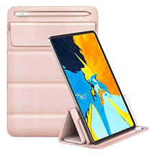 MoKo 9-11 Inch iPad Sleeve Case, PU Leather Trifold ... - Amazon.com