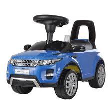 Купить машинку-<b>каталку Chilok bo</b> Range Rover (синий) в ...