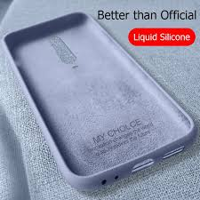 Liquid Silicon <b>Case</b> For Xiaomi Mi <b>Poco</b> X3 NFC 10 Pro Lite <b>Case</b> ...