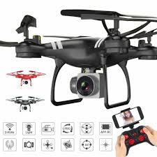 2.4GHz Camera Selfie <b>RC Drone KY101</b> Altitude Hold HD FPV Wifi ...