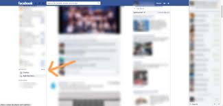how to get your facebook page updates to your fans blog the location of facebook s lists feature