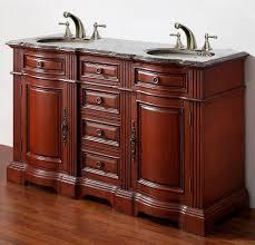 55 inch double sink bathroom vanity: image of  inch double sink bathroom vanity