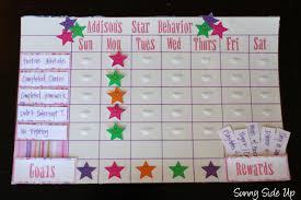star behavior charts re born the sunny side up blog addison decided a rainbow was much fancier that child of mine is in the business of being fancy