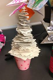bookishly boisterous a literary christmas tree a totally decimated copy of the bell jar