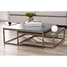 Take your style game to the next level with this <b>2 Piece Coffee</b> Table ...