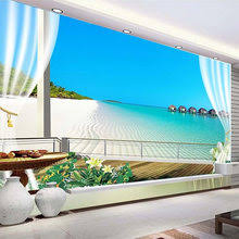<b>3d</b> Wallpaper <b>Sea View</b> Window
