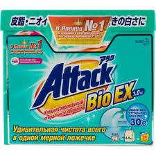 Стиральный <b>порошок Attack</b> - купить в Москве - goods.ru