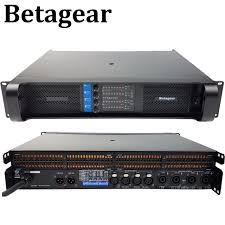 <b>Профессиональный усилитель мощности</b> Betagear PF 10000q ...
