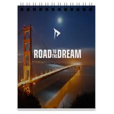 <b>Блокнот Road to</b> the dream #2704932 от Тимофей Тимофей