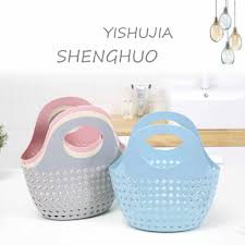 <b>1PC</b> Plastic <b>Storage</b> Basket <b>Multicolor</b> Design Box Kitchen Bathroom ...