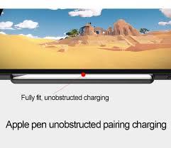 For iPad Pro 11 <b>Case</b> Pencil Holder Twill <b>PU Tri Fold</b> Smart Flip ...