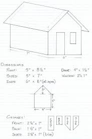 Gingerb House Template