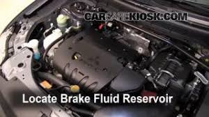 interior fuse box location mitsubishi outlander  add brake fluid 2007 2013 mitsubishi outlander