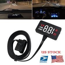 US <b>A100 Car HUD</b> Head Up Display OBD2 II EUOBD Overspeed ...