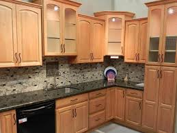 wall color ideas oak:  kitchen lovely kitchen modern kitchen interior light brown wall color design ideas image of new