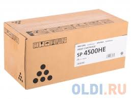 <b>Картридж Ricoh SP</b> 4500HE для SP 4510DN SP4510SF. Чёрный ...