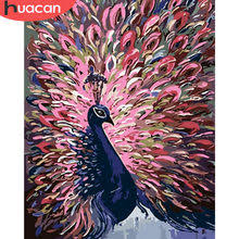 Best value Handpainted <b>Peacock</b> Oil Painting – Great deals on ...
