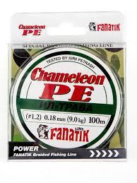 Шнур плетеный рыболовный <b>Chameleon PE</b> X4 Ил-Трава 100 м ...