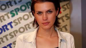 Sylwia Dekiert w początkach swej dziennikarskiej kariery - fot. Piotr Fotek - roz5871531