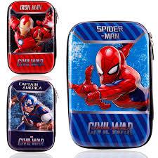 Stationery 3D EVA pencil bag school supplier large super hero ...