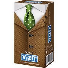 <b>Презервативы Vizit</b> (<b>Визит</b>) Dotted <b>точечные 12</b> шт. купить по ...
