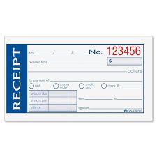 adams dc2501ws money rent receipt books 50 sheet s 2 part view large image view huge image