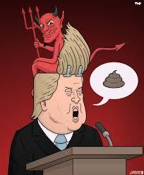Bildergebnis für Trump Karikaturen
