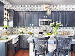 Painted Kitchen Spray Painting Kitchen Cabinets Pictures Ideas From Hgtv Hgtv