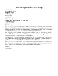graphic design cover letter examples cover letter sample  graphic designer cover letters template best