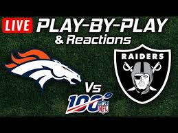 Broncos vs Raiders | Live Play-By-Play & Reactions - YouTube