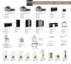 Silver Bedroom Accessories Barocco Black W Silver Camelgroup Italy Classic Bedrooms